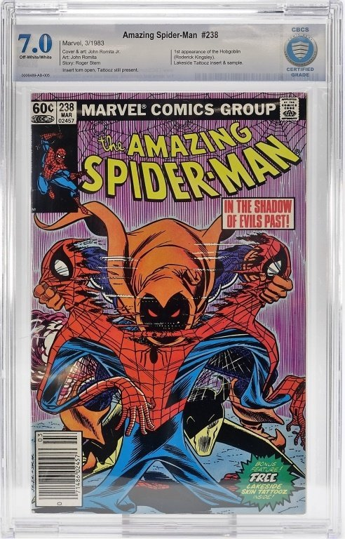 Marvel Comics Amazing Spider-Man No. 238 CBCS 7.0
