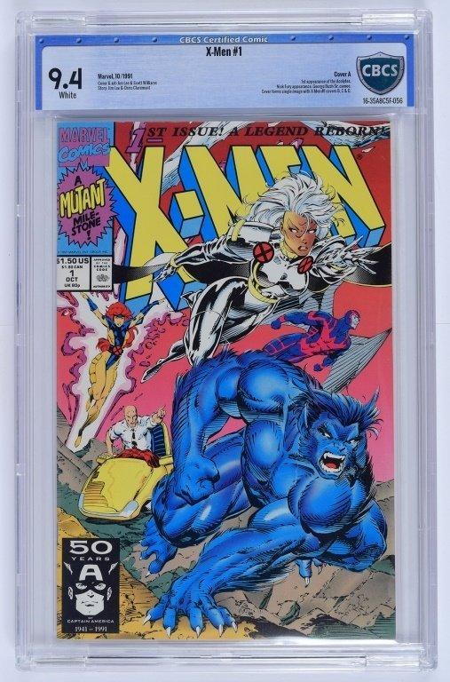 Marvel X-Men No. 1 A-E Complete Cover Set CBCS