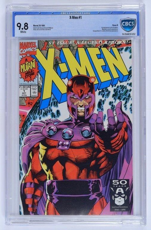 Marvel X-Men No. 1 A-E Complete Cover Set CBCS - 3