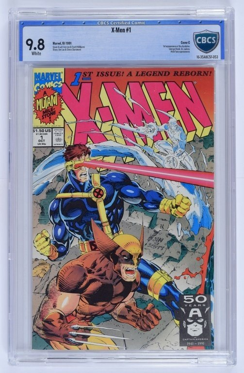 Marvel X-Men No. 1 A-E Complete Cover Set CBCS - 4