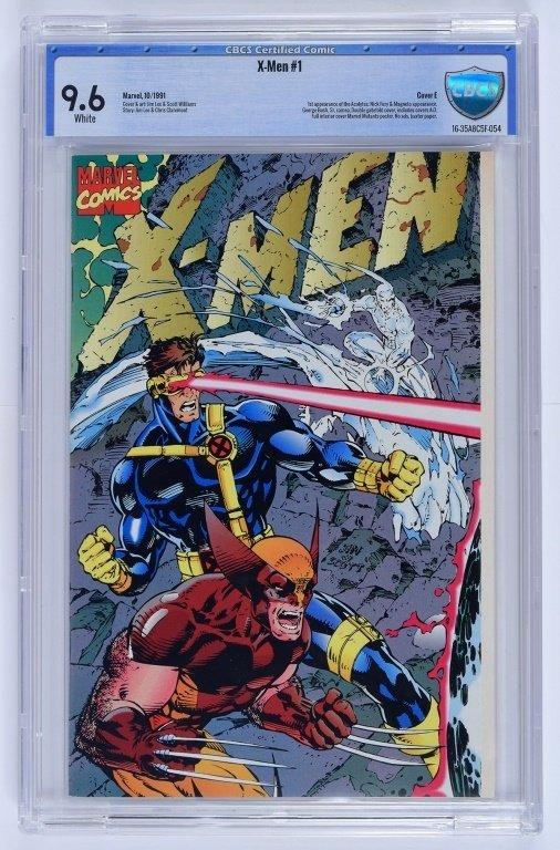 Marvel X-Men No. 1 A-E Complete Cover Set CBCS - 5