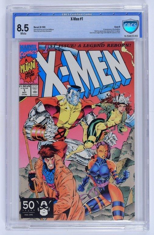 Marvel X-Men No. 1 A-E Complete Cover Set CBCS - 6