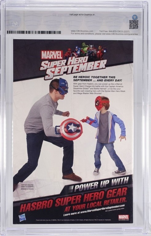 Marvel Edge of Spider-Verse No. 2 CBCS 9.6 - 2