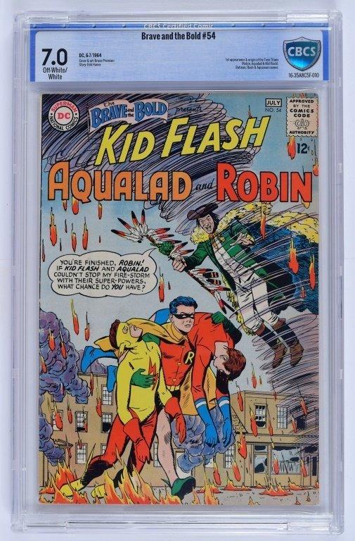 D.C Comics Brave and the Bold No. 54 CBCS 7.0