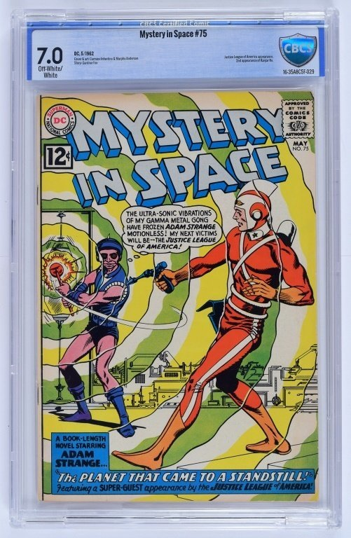 D.C Comics Mystery in Space No. 75 CBCS 7.0
