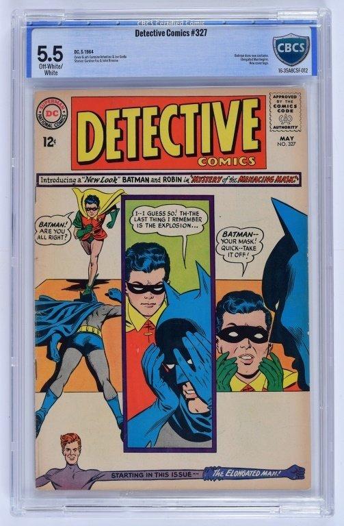 D.C Comics Detective Comics No. 327 CBCS 5.5