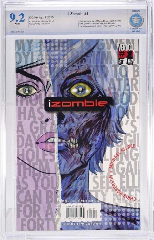 D.C Comics I, Zombie No. 1 CBCS 9.2