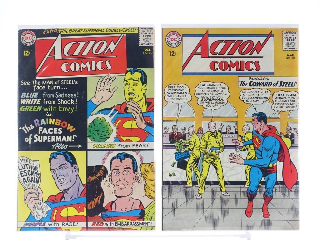 16 Silver Age D.C Action Comics No. 265-322 - 10