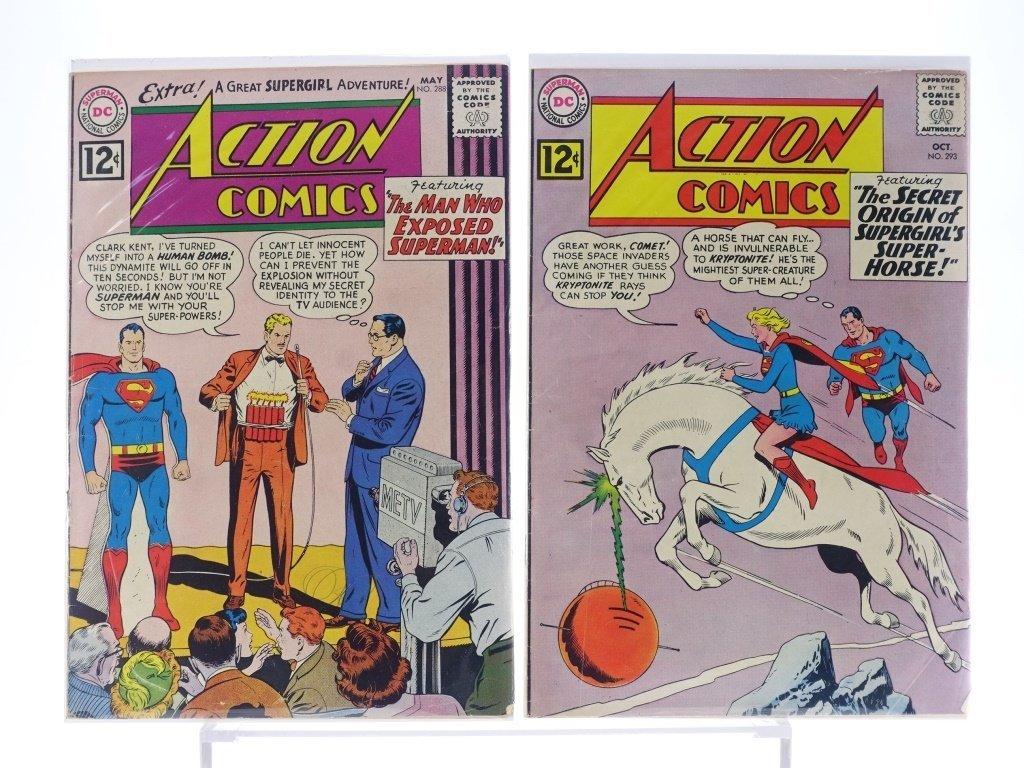 16 Silver Age D.C Action Comics No. 265-322 - 4