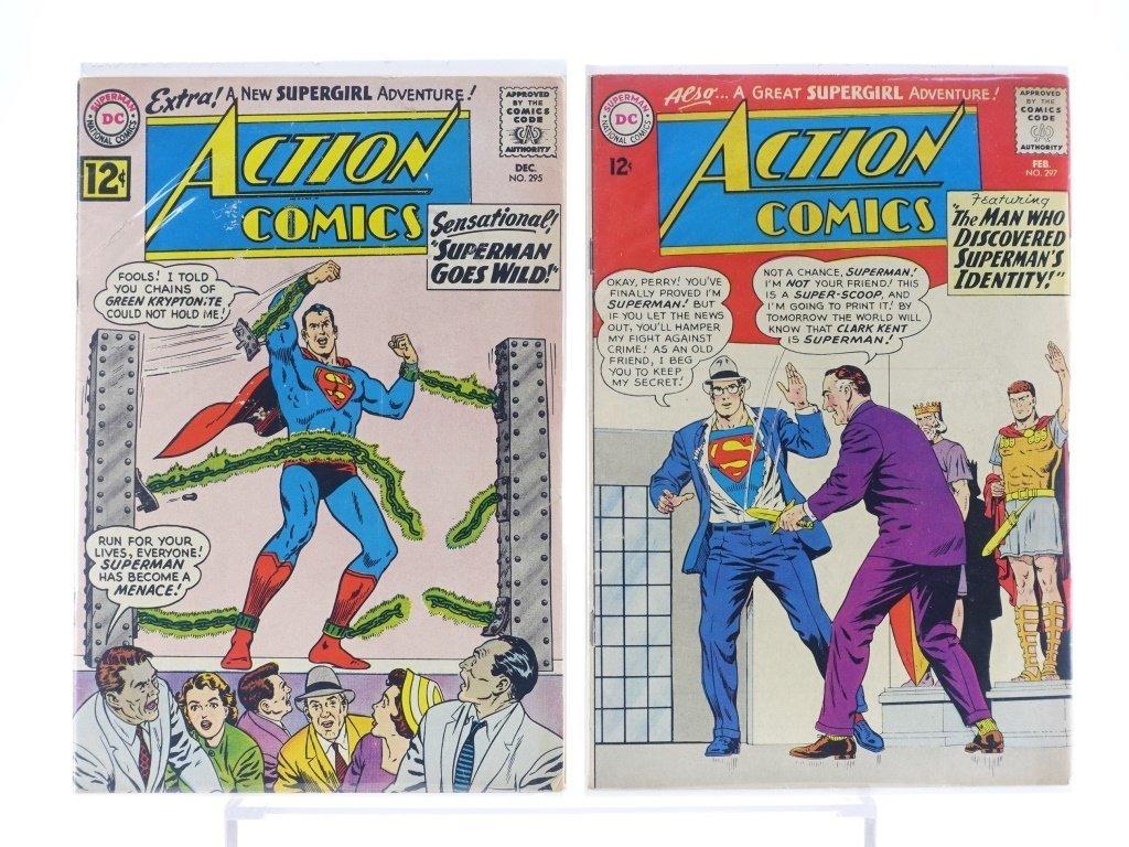 16 Silver Age D.C Action Comics No. 265-322 - 5