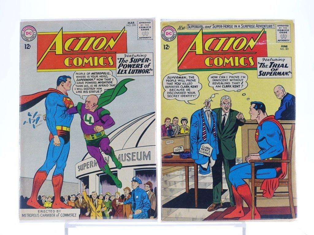 16 Silver Age D.C Action Comics No. 265-322 - 6