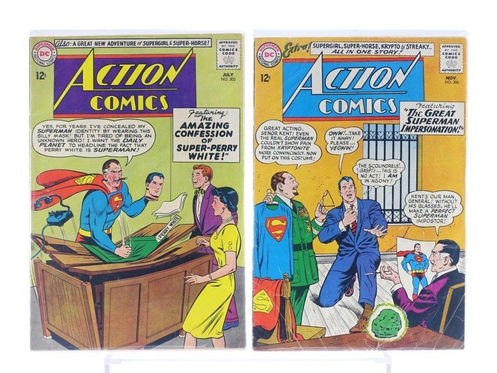 16 Silver Age D.C Action Comics No. 265-322 - 7