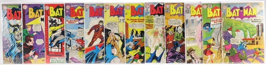 12 Silver Age D.C Batman Comics No. 130-180 - 2