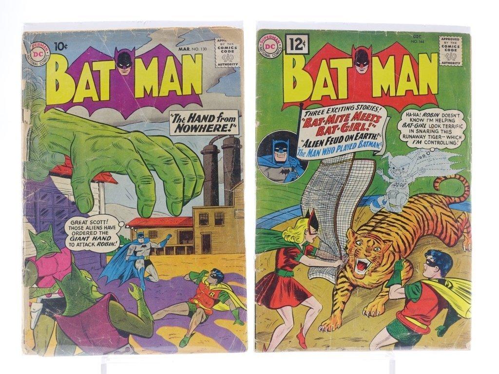 12 Silver Age D.C Batman Comics No. 130-180 - 3