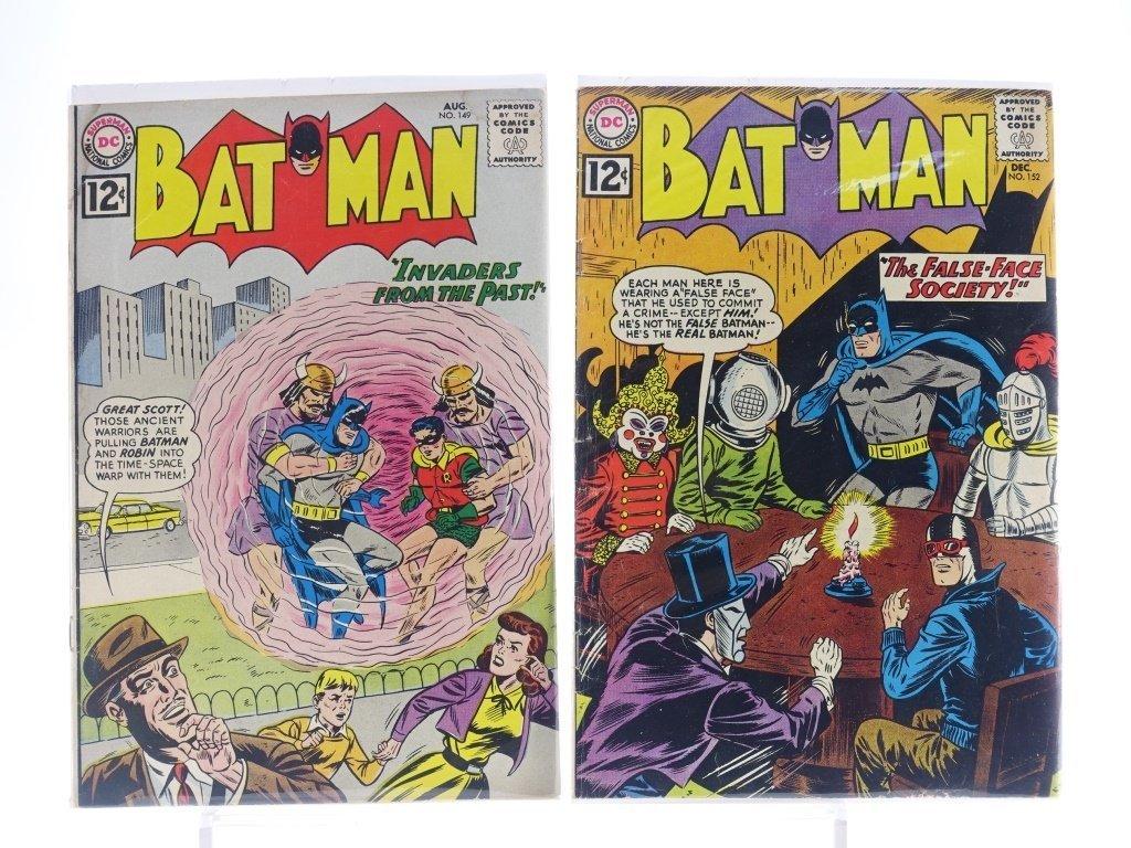 12 Silver Age D.C Batman Comics No. 130-180 - 4