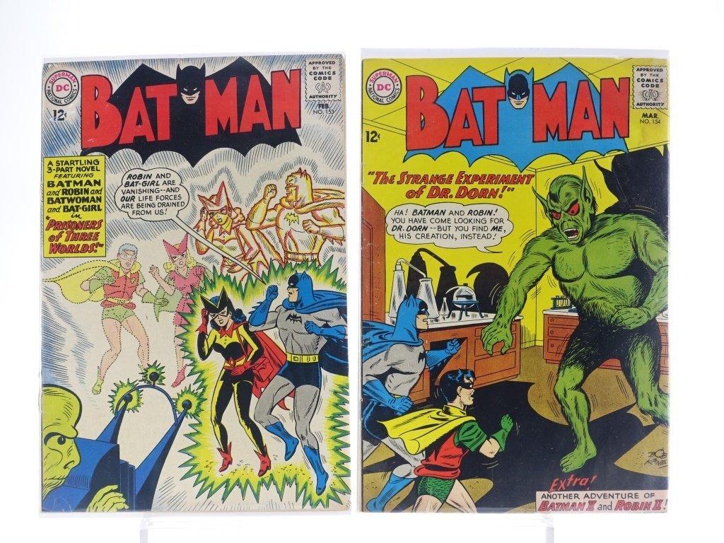 12 Silver Age D.C Batman Comics No. 130-180 - 5