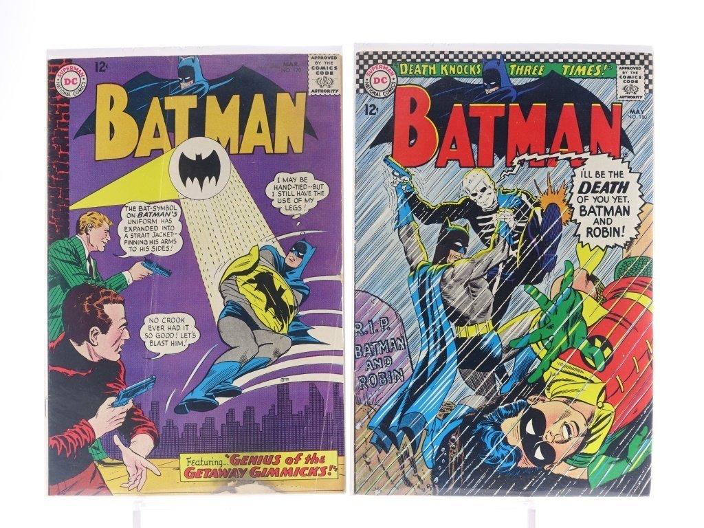 12 Silver Age D.C Batman Comics No. 130-180 - 8
