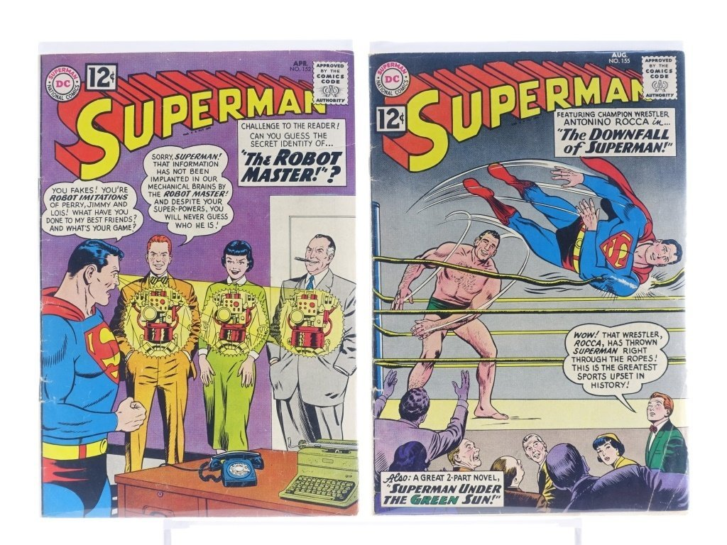 16 Silver Age D.C Superman Comics No. 138-214 - 5