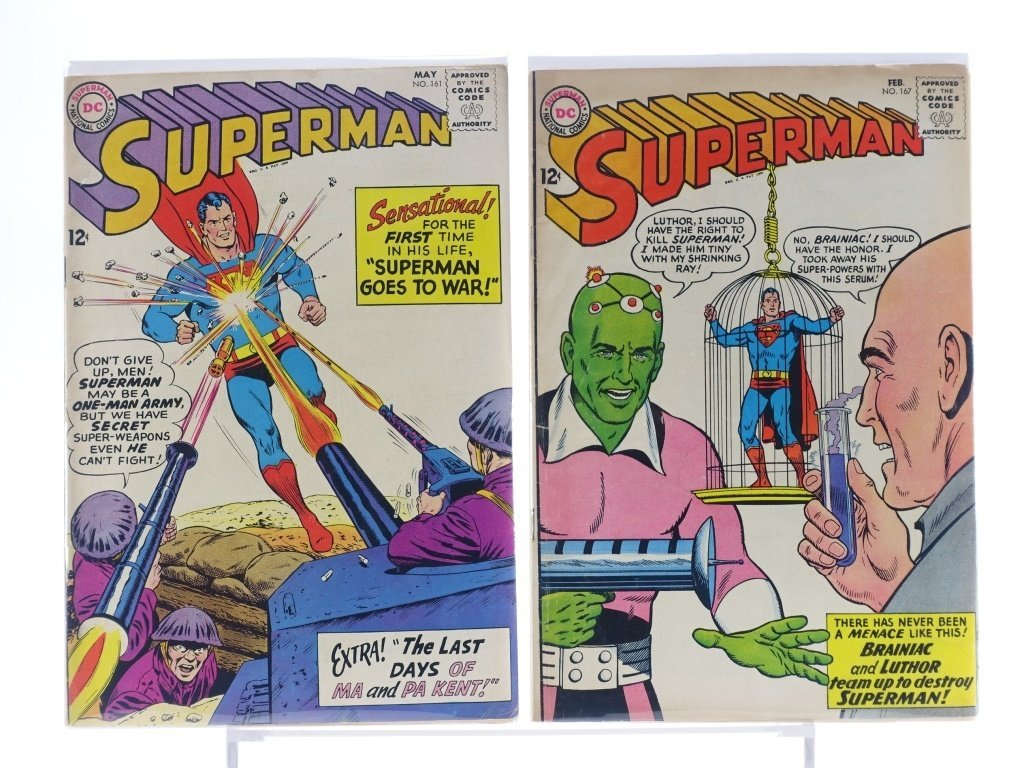 16 Silver Age D.C Superman Comics No. 138-214 - 6