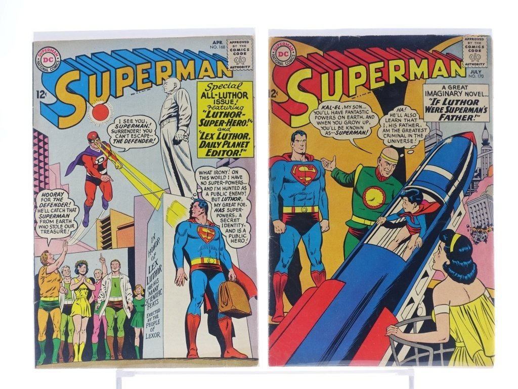 16 Silver Age D.C Superman Comics No. 138-214 - 7