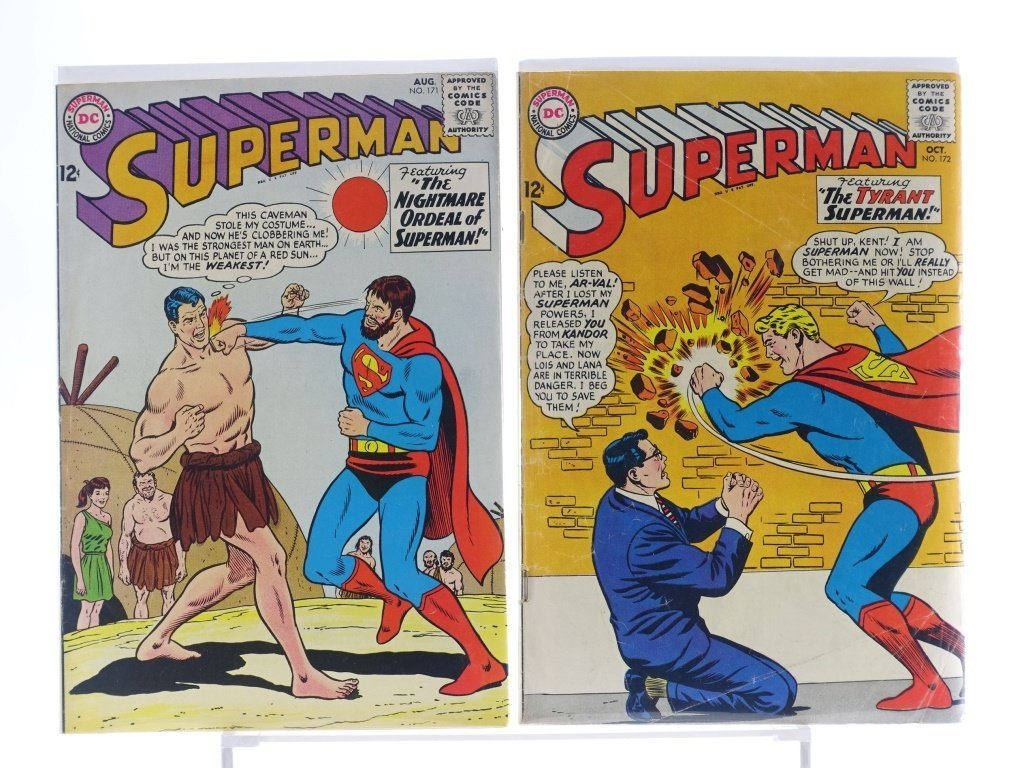 16 Silver Age D.C Superman Comics No. 138-214 - 8