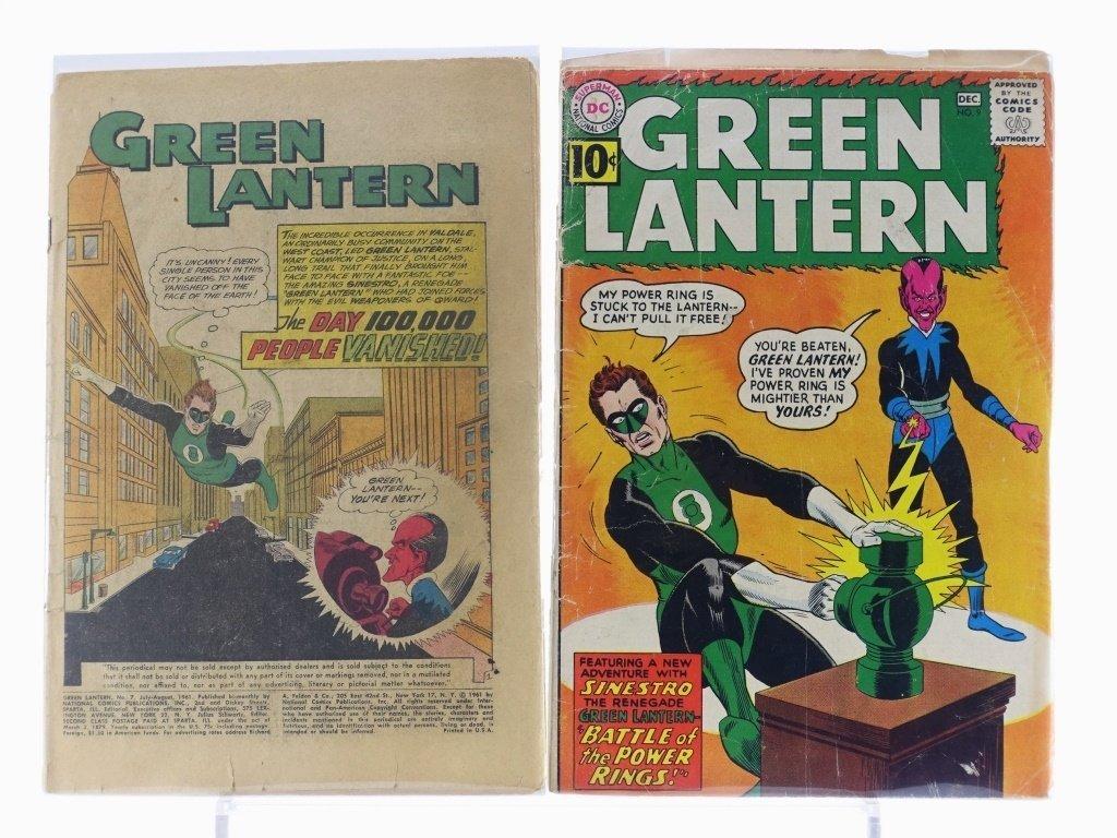 7 Silver Age D.C Green Lantern Comics No. 7-25 - 3