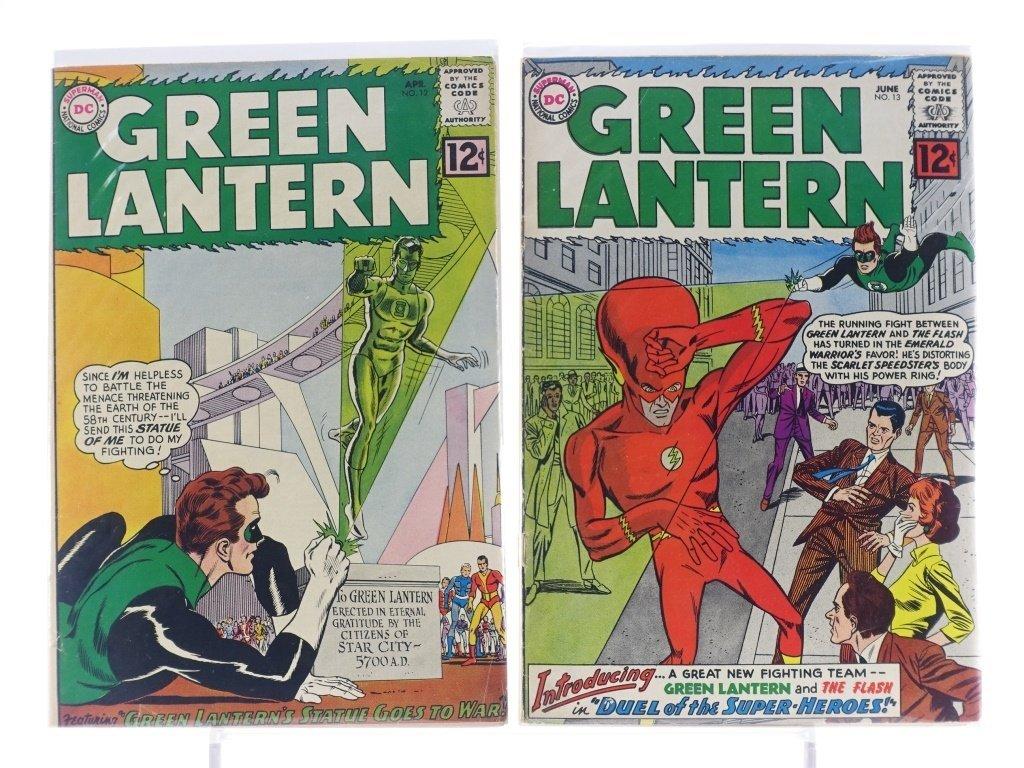 7 Silver Age D.C Green Lantern Comics No. 7-25 - 4
