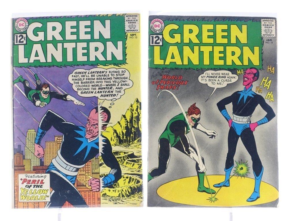 7 Silver Age D.C Green Lantern Comics No. 7-25 - 5