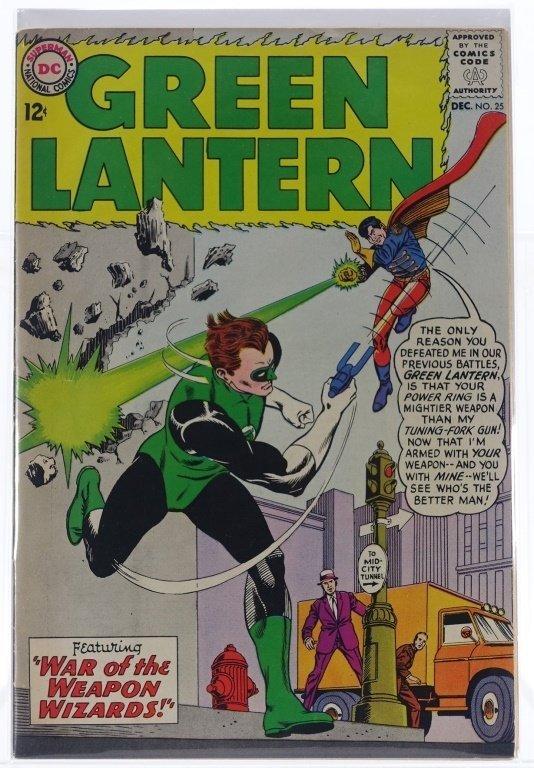 7 Silver Age D.C Green Lantern Comics No. 7-25 - 6