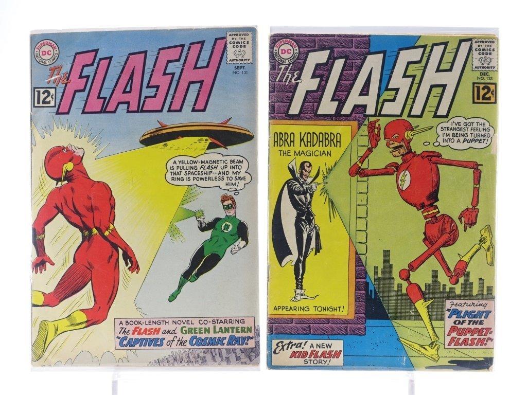 9 Silver Age D.C Flash Comics No. 109-145 - 5