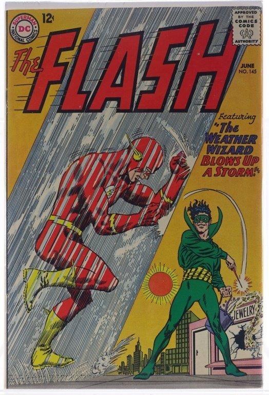 9 Silver Age D.C Flash Comics No. 109-145 - 7