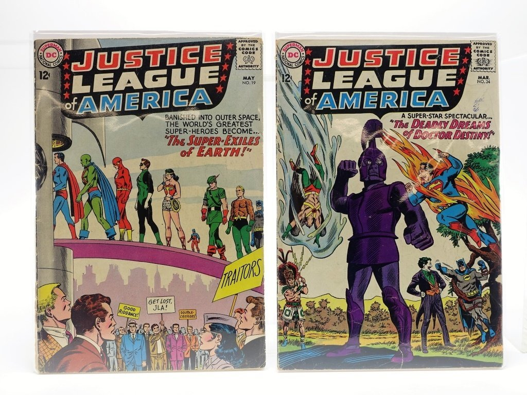 8 Silver Age DC Justice League of America No 12-66 - 3