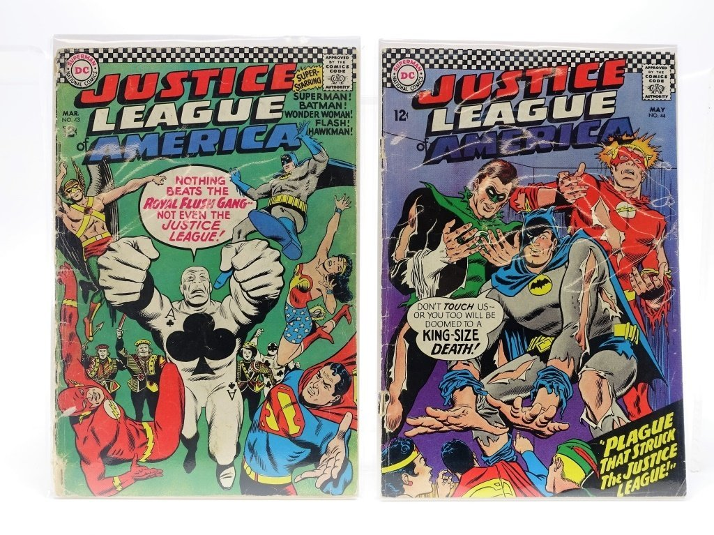 8 Silver Age DC Justice League of America No 12-66 - 4