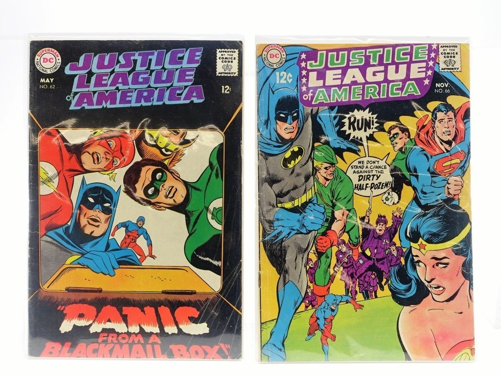 8 Silver Age DC Justice League of America No 12-66 - 5