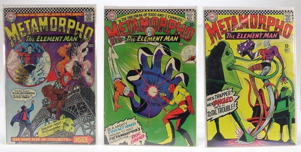 11 Silver Age D.C Comics Metamorpho No. 2-15 - 3