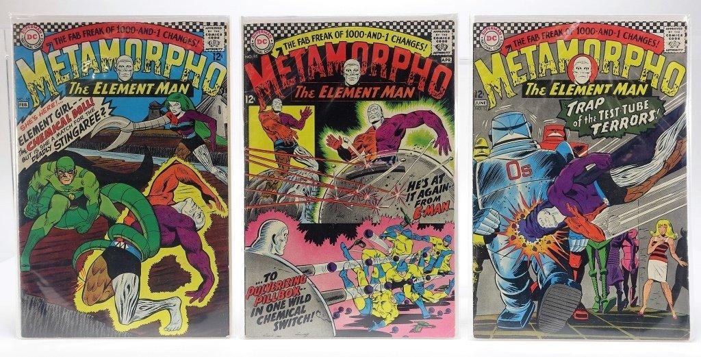 11 Silver Age D.C Comics Metamorpho No. 2-15 - 4