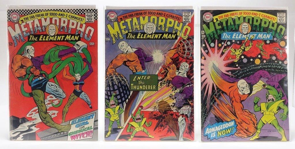 11 Silver Age D.C Comics Metamorpho No. 2-15 - 5