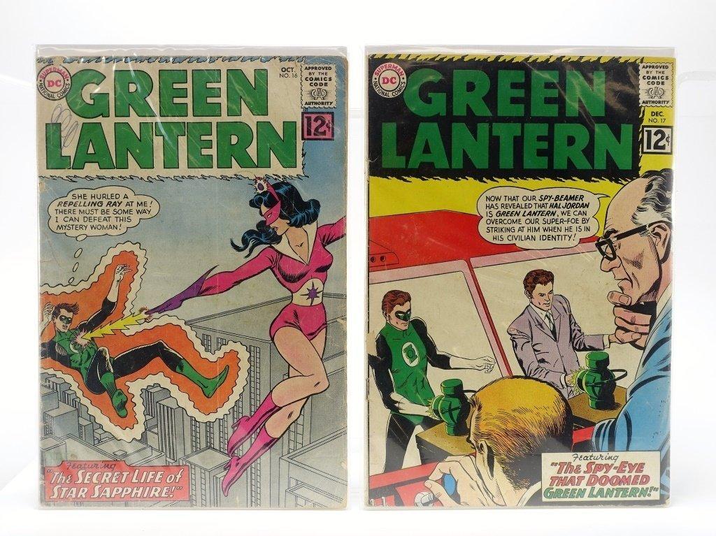 5 Silver Age D.C Comics Green Lantern No. 16-55 - 2
