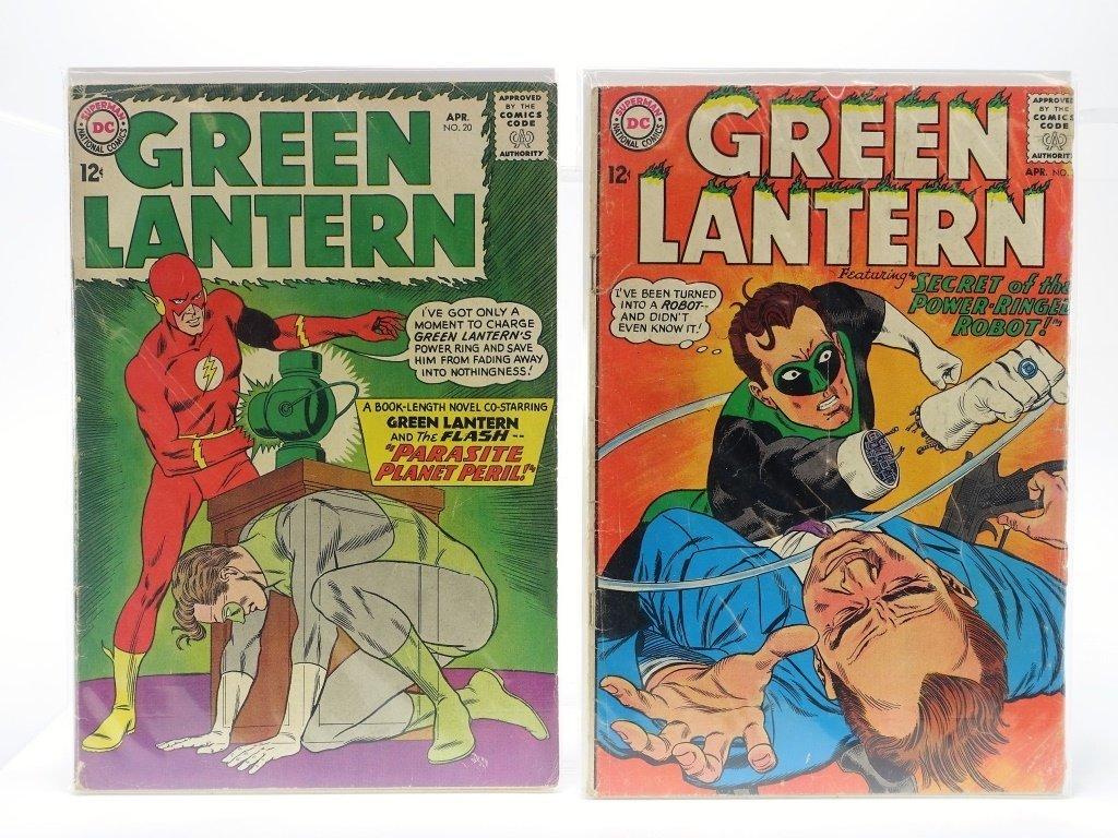 5 Silver Age D.C Comics Green Lantern No. 16-55 - 3