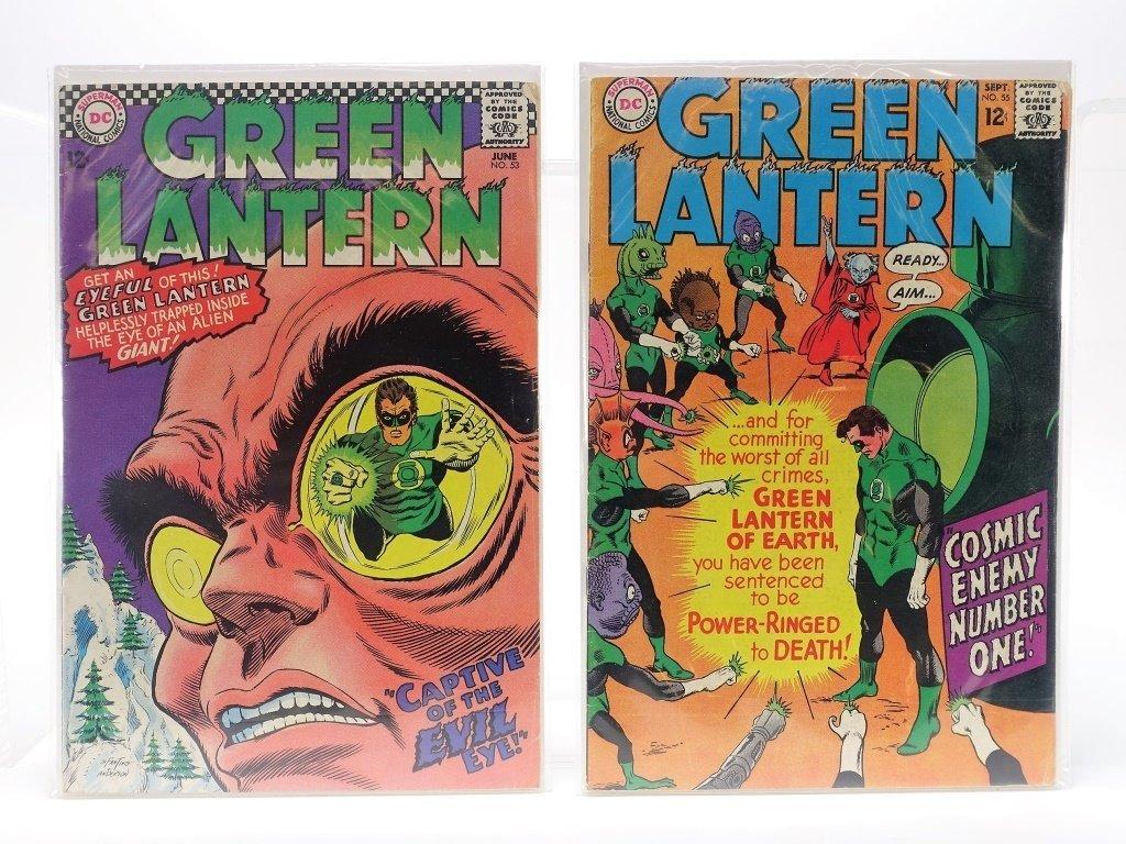 5 Silver Age D.C Comics Green Lantern No. 16-55 - 4