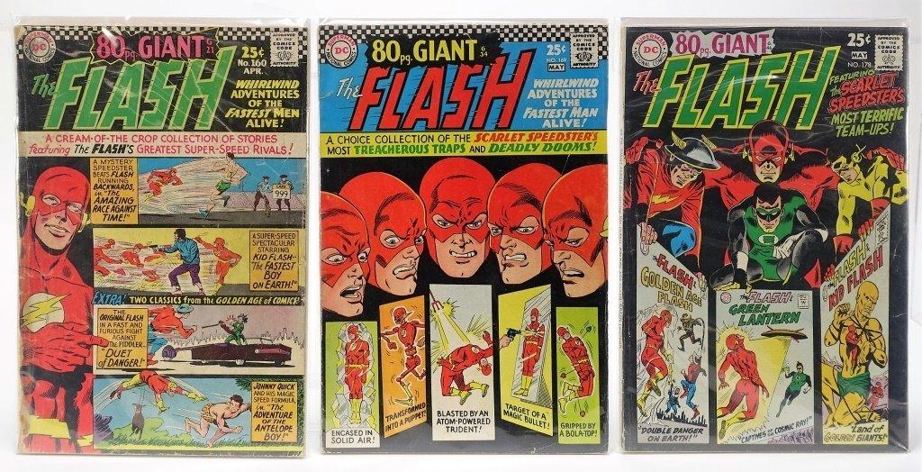 9 Silver Age D.C Comics Giant Flash J.L.A Batman - 2