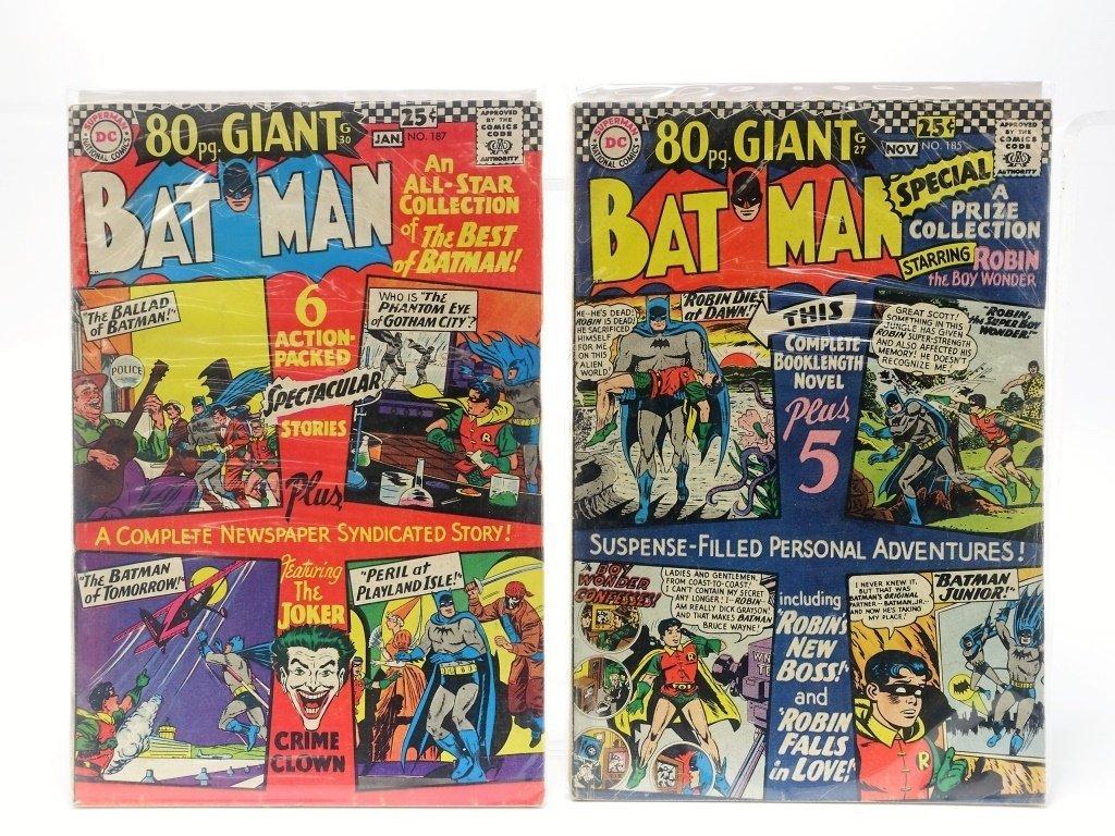 7 Silver Age D.C Comics Giant Batman - 3