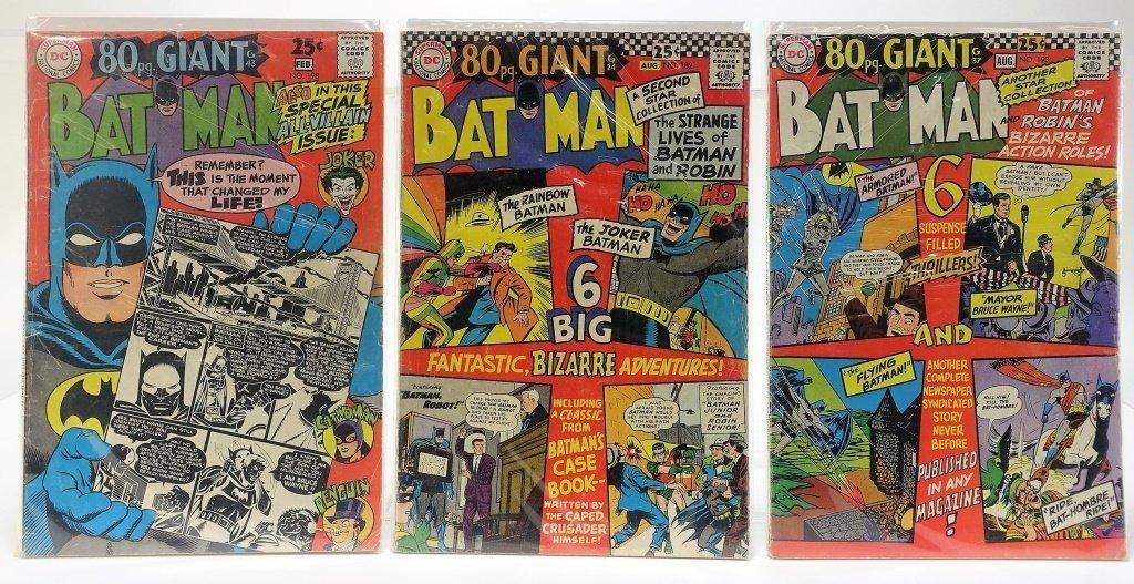 7 Silver Age D.C Comics Giant Batman - 4