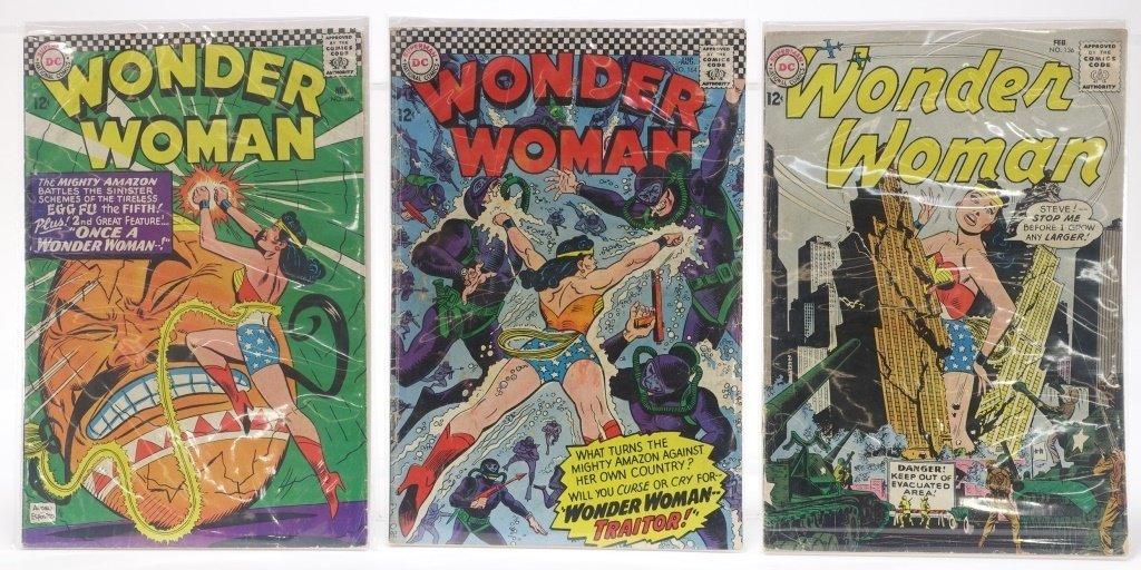 6 Silver Age D.C Comics Hawkman Wonder Woman - 3