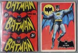 1966 Topps Batman Black Bat Trading Card Set