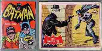 1966 Topps Batman A Series Red Bat Card Set