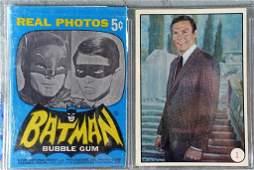 1966 Topps Batman Real Photos Bat Laffs Card Set