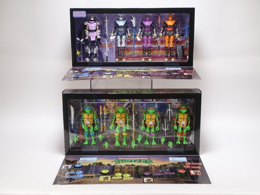 SDCC 2016 Excl. TMNT Arcade Turtles & Foot Clan