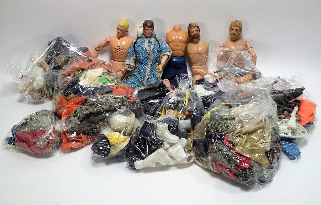Estate Lot of 100+ 1960's G.I Joe Accessories