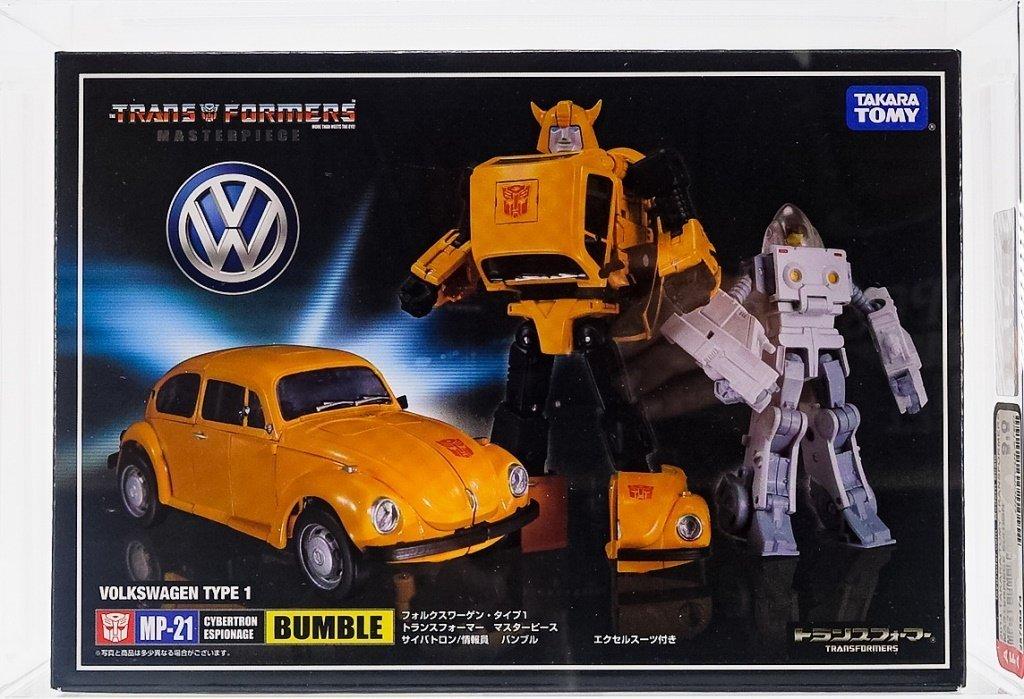 2014 Takara Transformers MP-21 Bumblebee AFA 9.0U